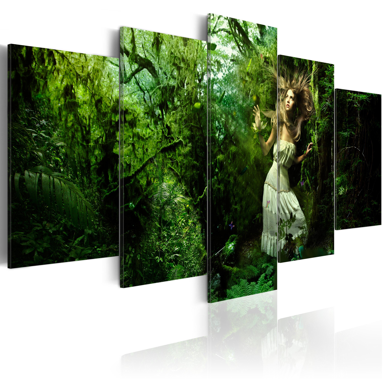 Tableau - Perdue dans les arbres