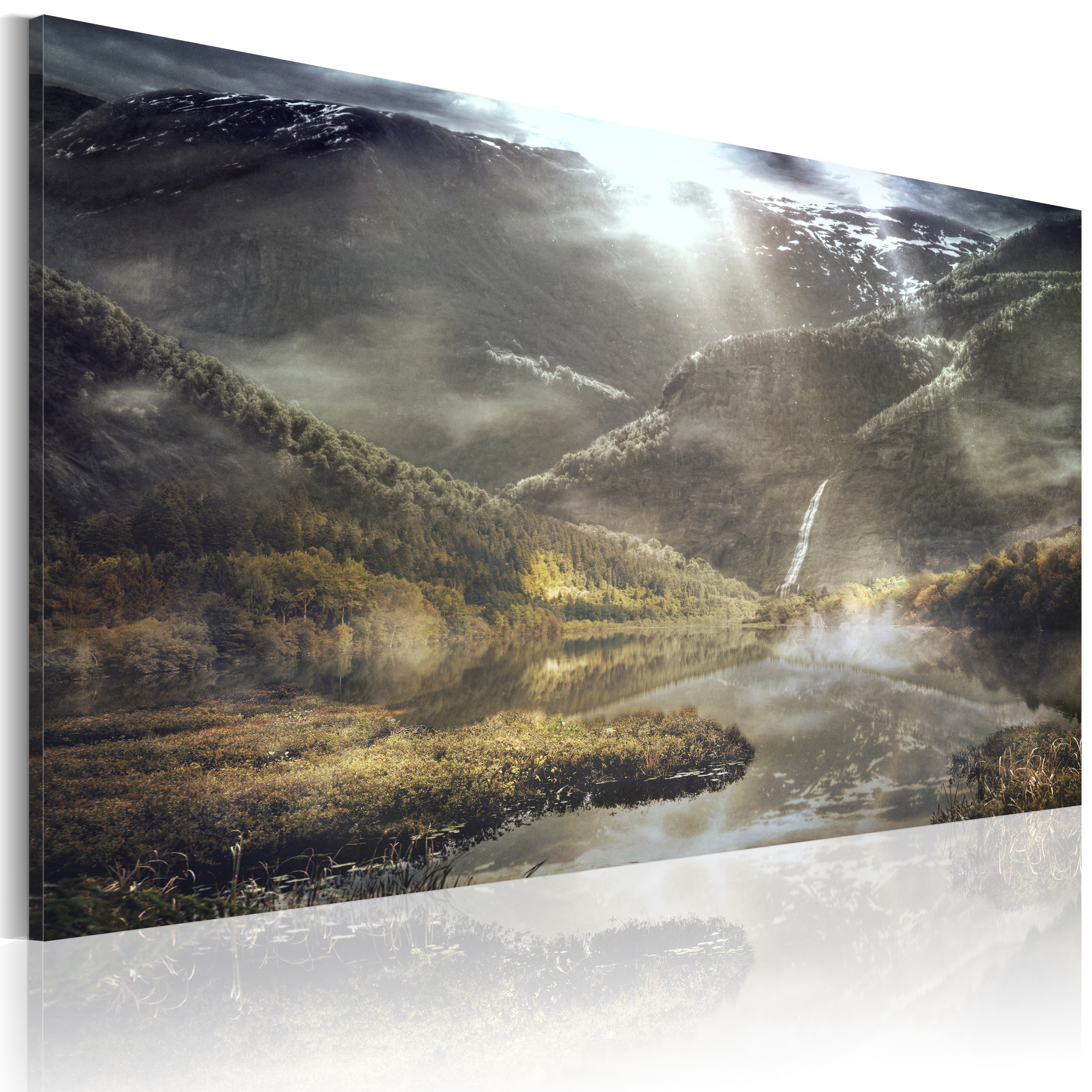 Tableau - The land of mists