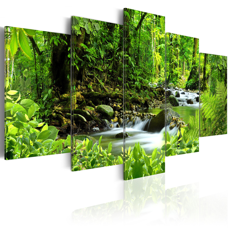 Tableau - Dans la jungle