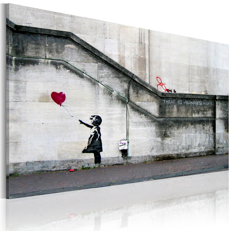 Tableau - Il ya toujours de l'espoir (Banksy)