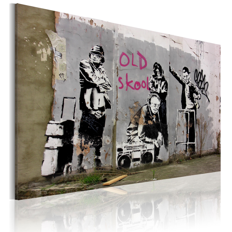 Tableau - Old school (Banksy)