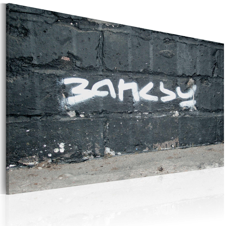 Tableau - Banksy: signature