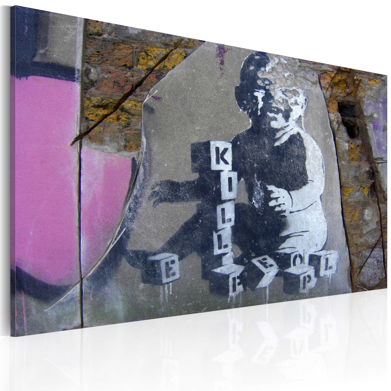 Tableau - L'enfant tueur (Banksy)