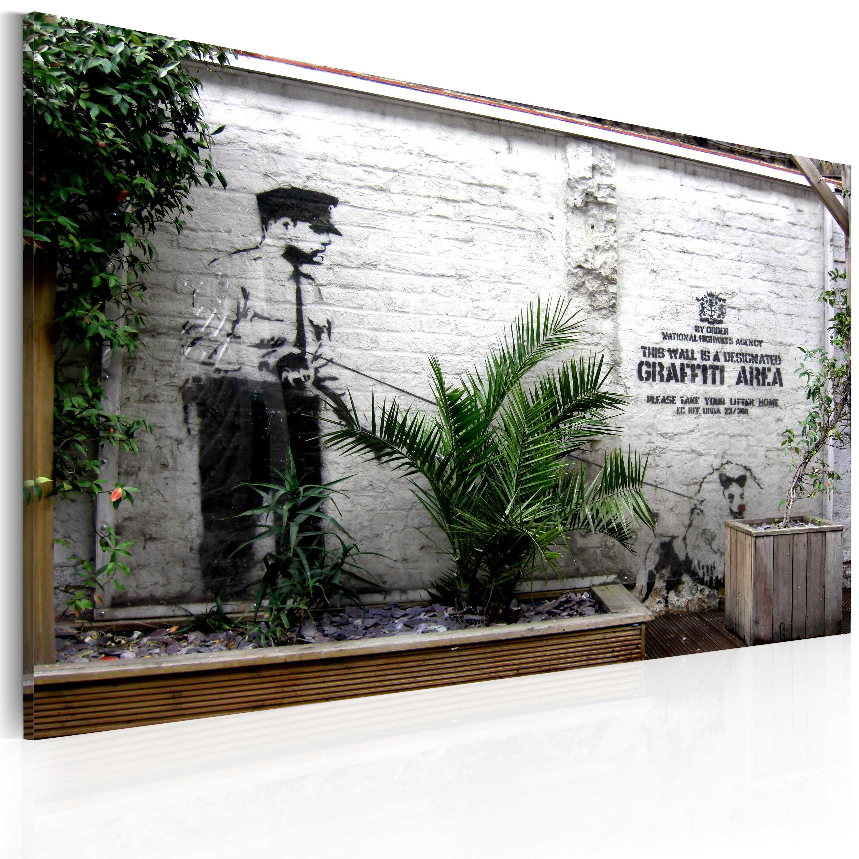 Tableau - Graffiti zone (Banksy)