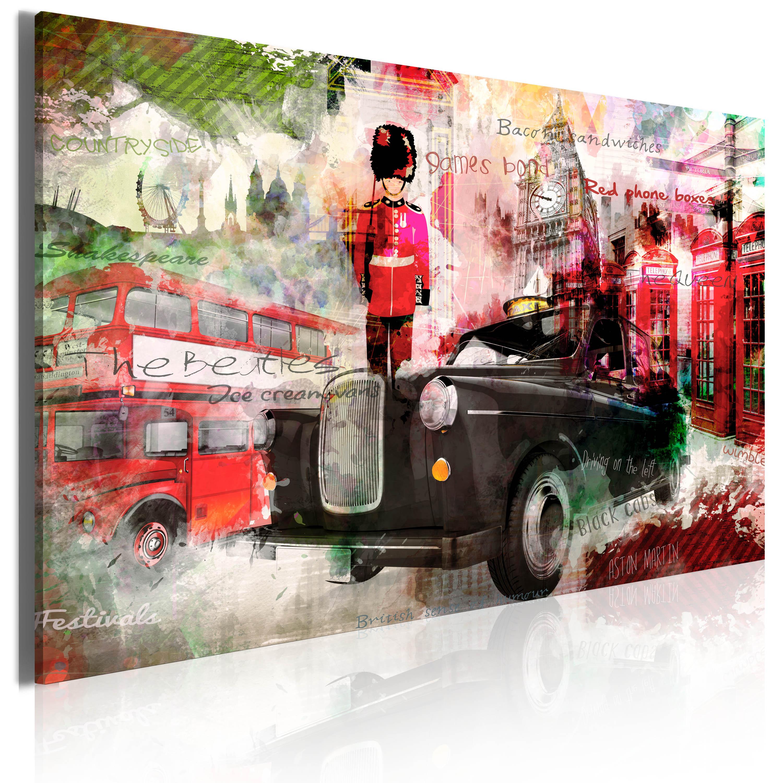 Tableau - Mémoires de Londres