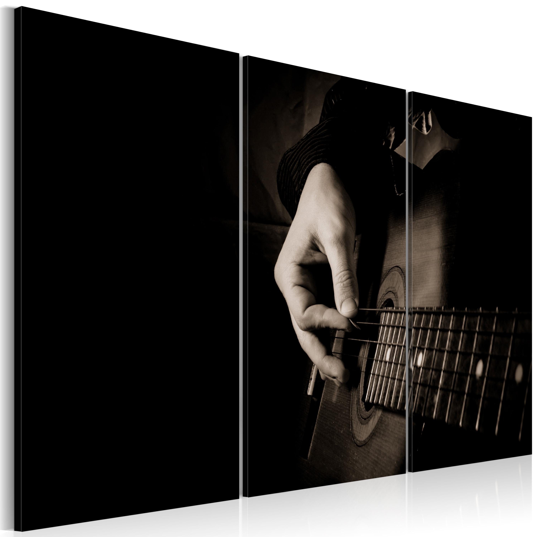 Tableau - Guitariste