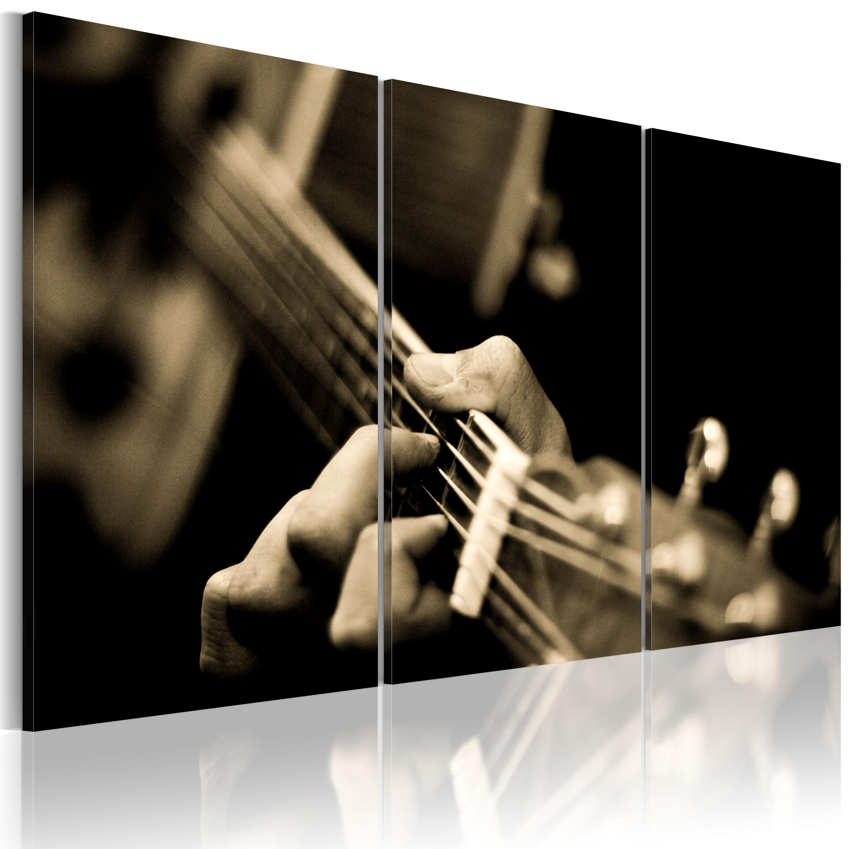 Tableau - Son magique de la guitarre