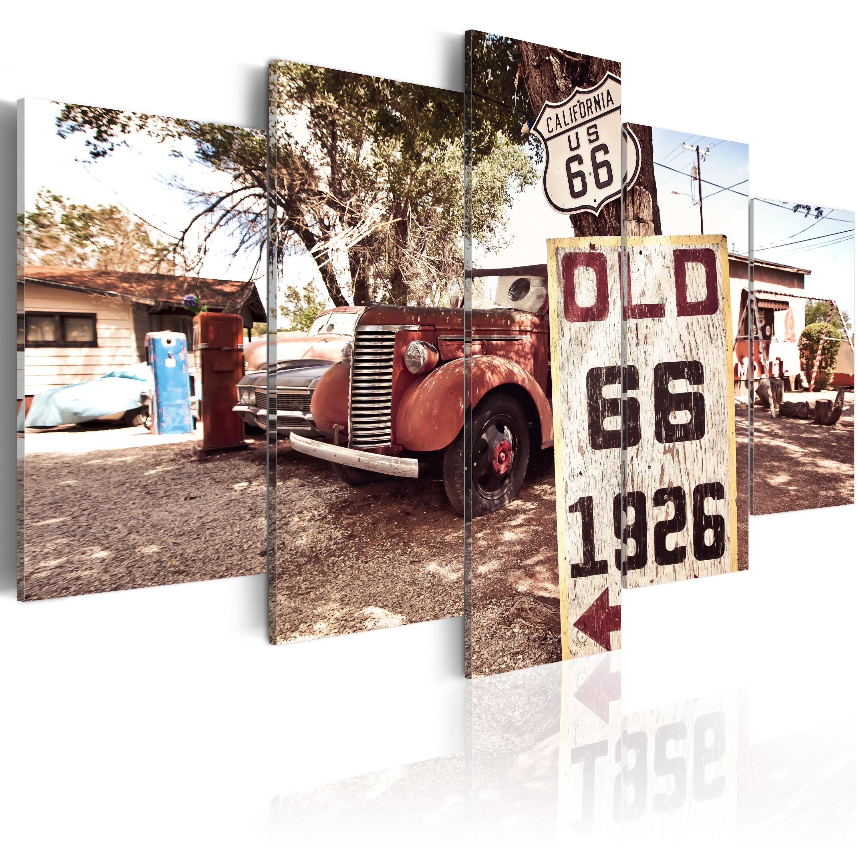 Tableau - California - vintage style