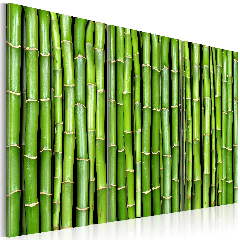 Tableau - Mur de bambou
