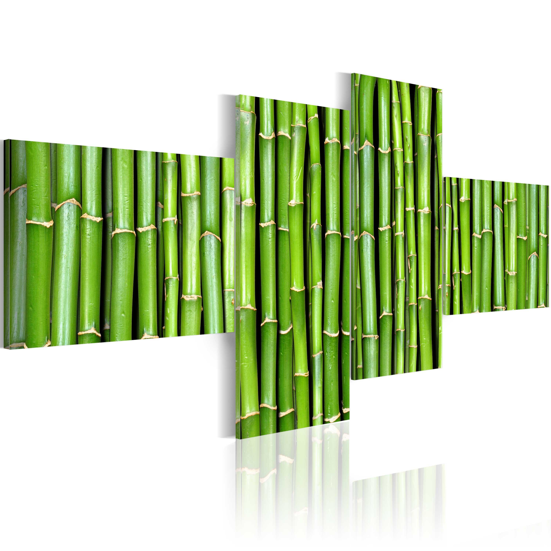Tableau - Tiges de bambou