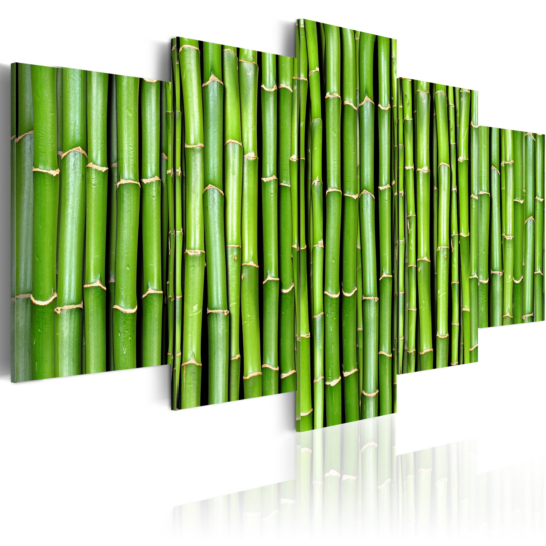 Tableau - Bambou - harmonie et simplicité