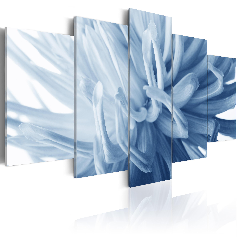 Tableau - Dahlia bleu