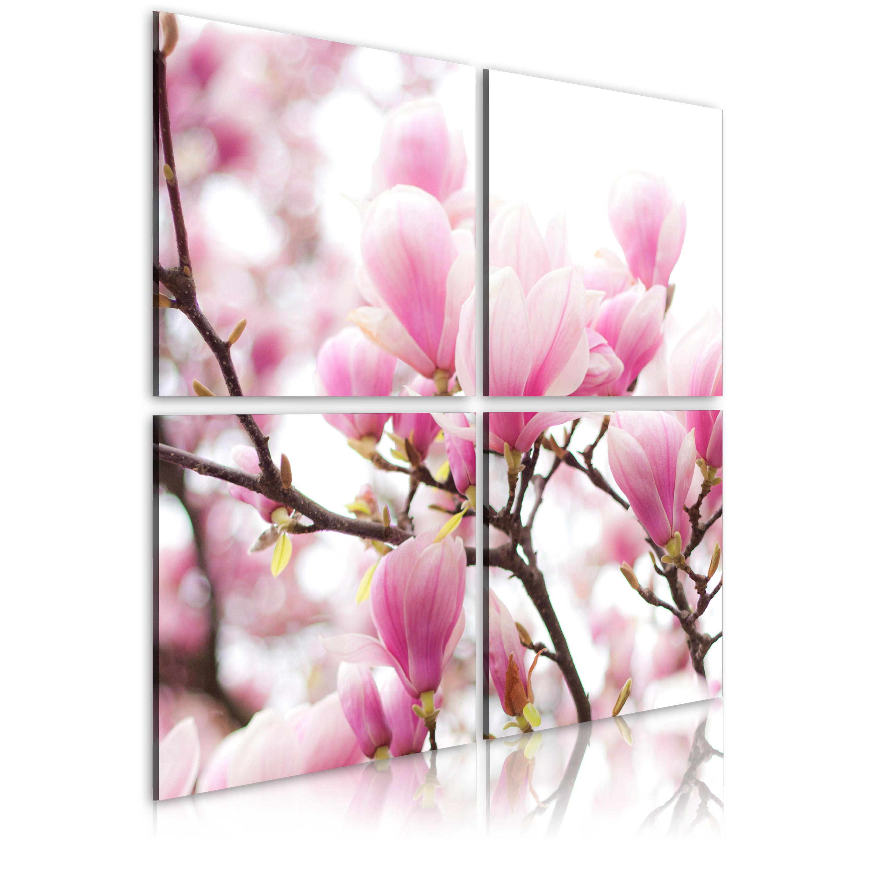 Tableau - Magnolia fleurissante