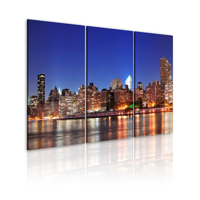 Tableau - NYC - ville d'un million de lumières