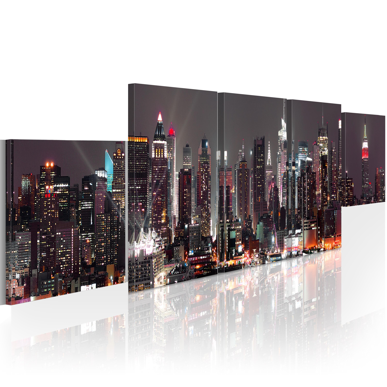 Tableau - New York: gratte-ciels