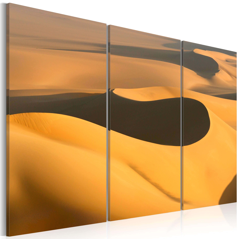 Tableau - sables du désert
