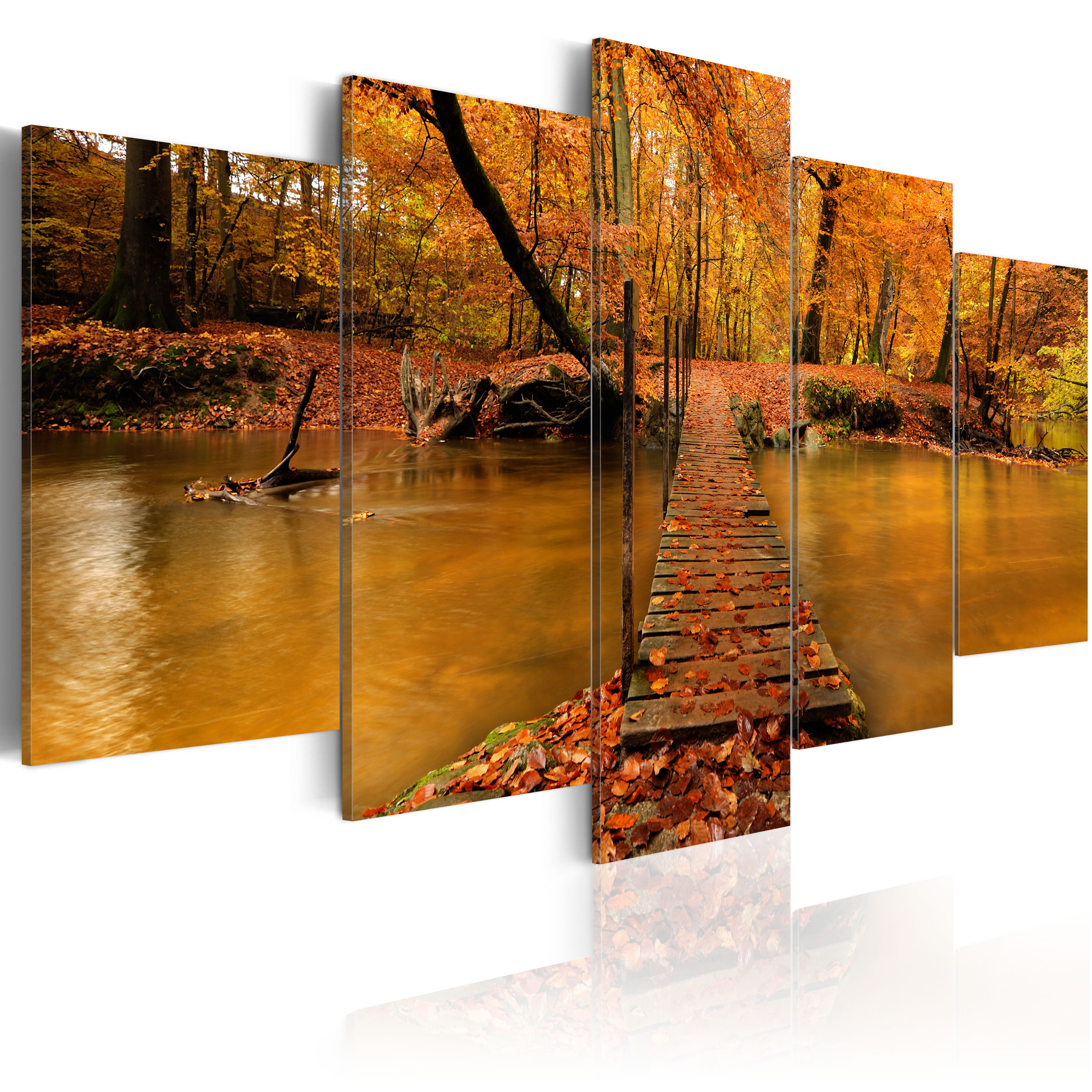 Tableau - Redness of autumn
