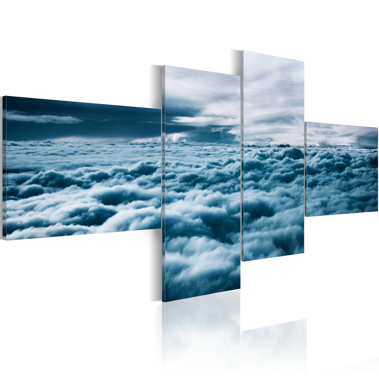 Tableau - Tête dans les nuages