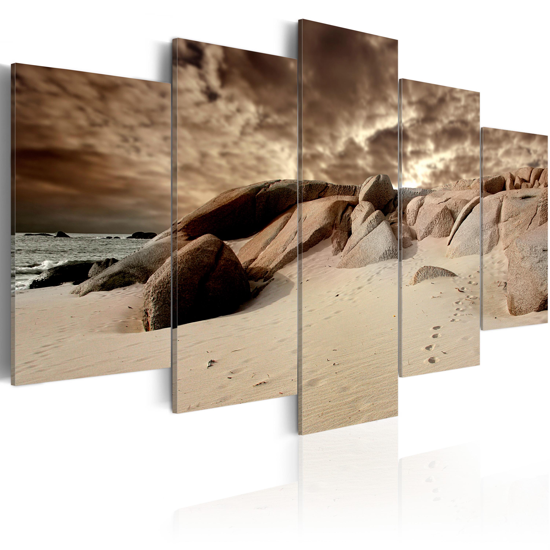 Tableau - Nuages de sable