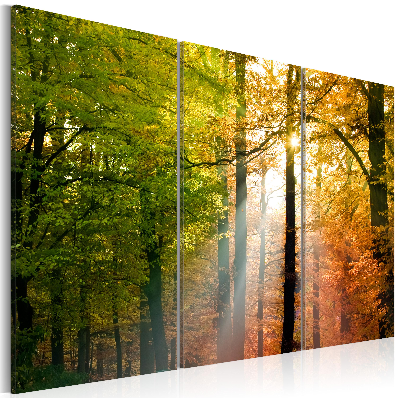 Tableau - Forêt d'automne