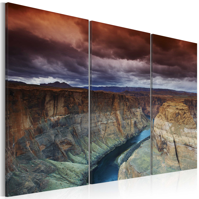 Tableau - Nuages au-dessus du Grand Canyon