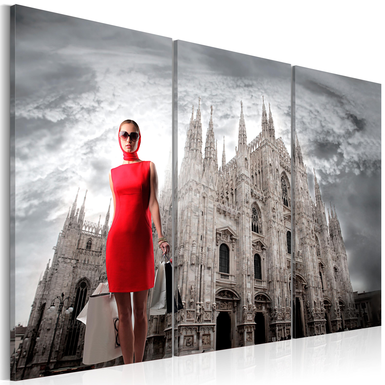 Tableau - Milan - capitale de la mode