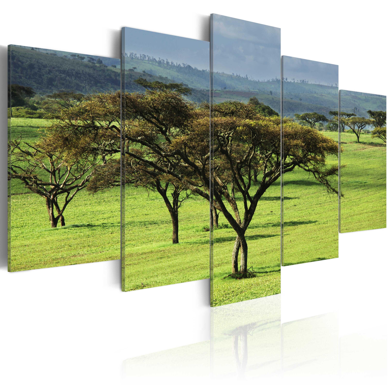 Tableau - Afrique verte