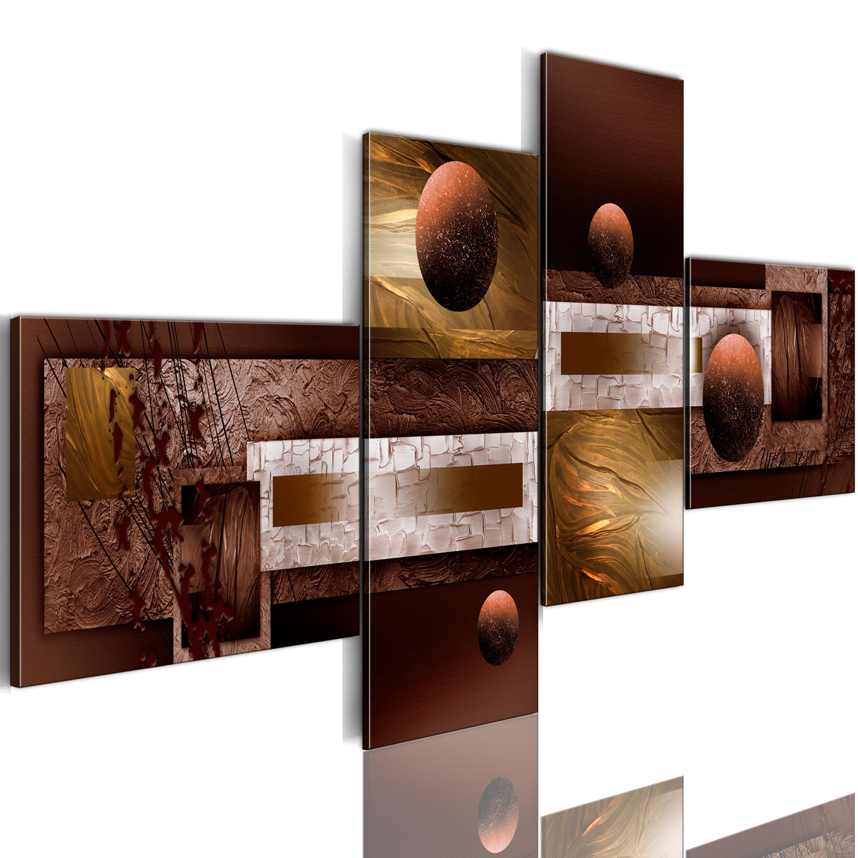 Quadro - Sfere e texture 100X46 cm