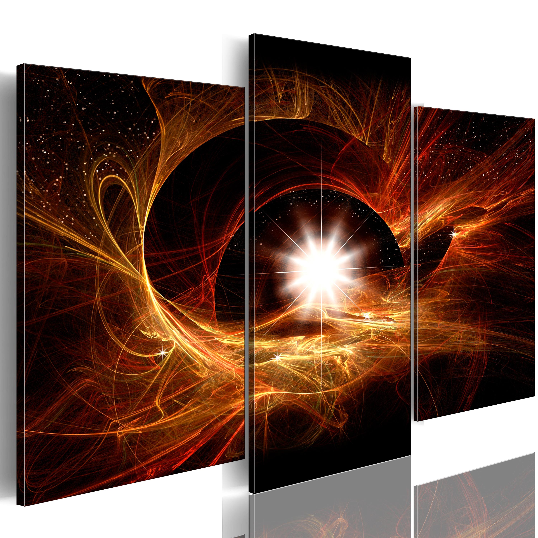 Quadro - Il centro dell'Universo 60X50 cm