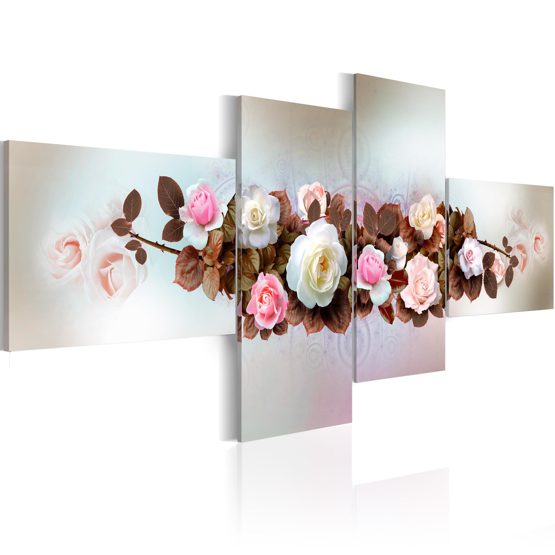 Quadro - Mazzo di rose 200X90 cm
