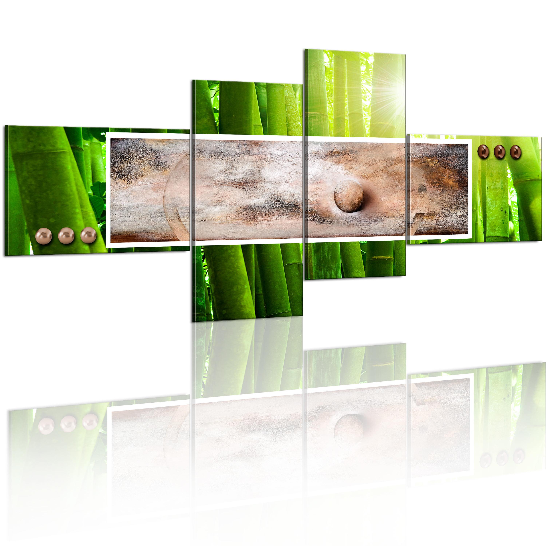 Quadro - Astrazione in bambù 200X92 cm