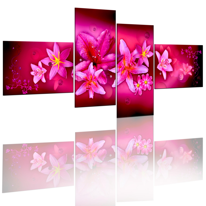 Quadro - Il fascino delle orchidee 100X45 cm