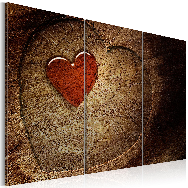 Quadro -  Il vecchio amore non arrugginisce: 3 pezzi 60X40 cm