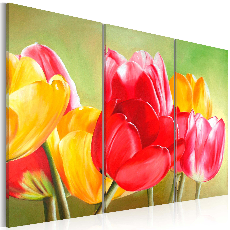 Quadro - I tulipani sbocciano di nuovo ... 60X40 cm