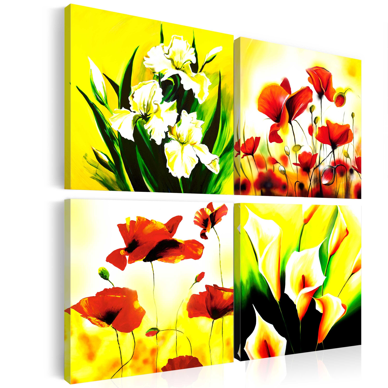 Tableau - Prairie fleurie
