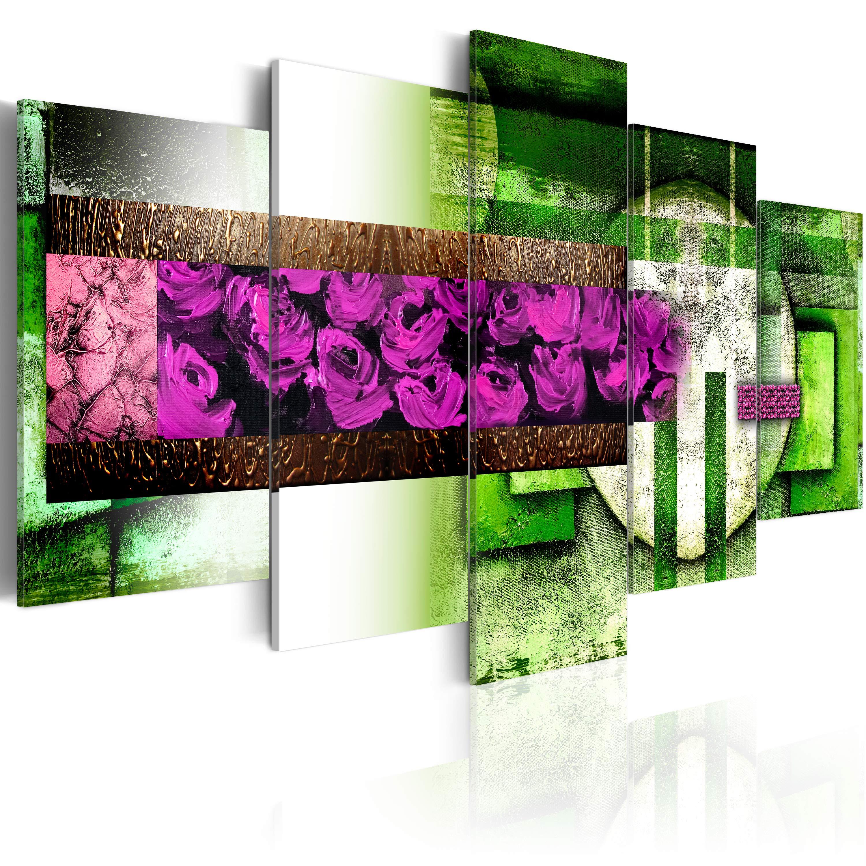 Tableau - Jardin abstrait