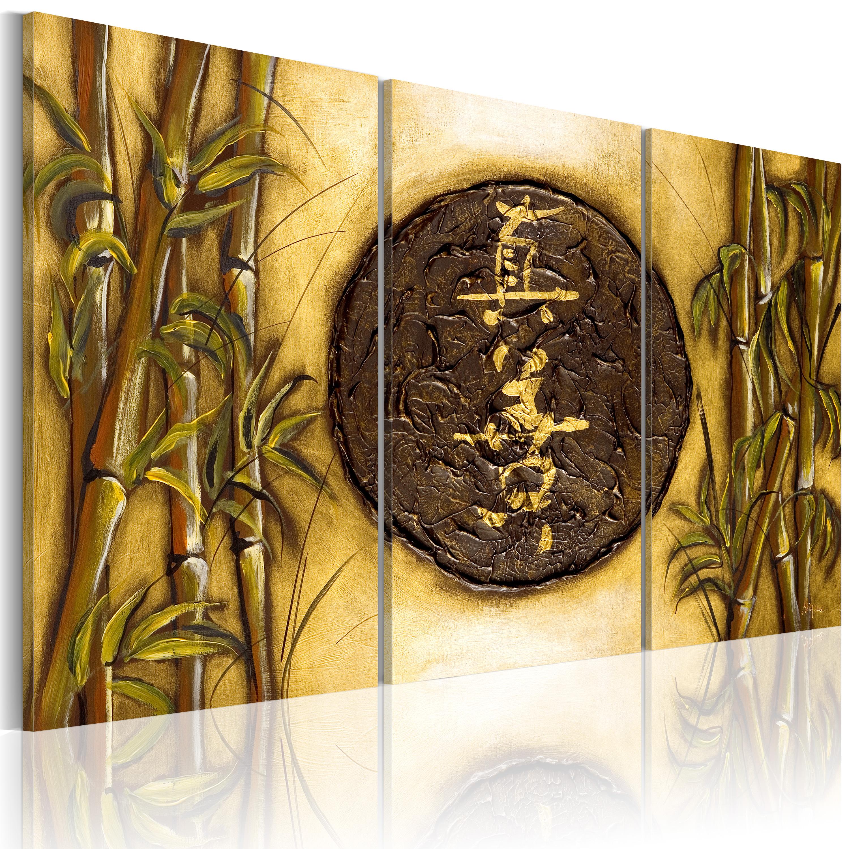 Quadro - Simbolo orientale 120X80 cm