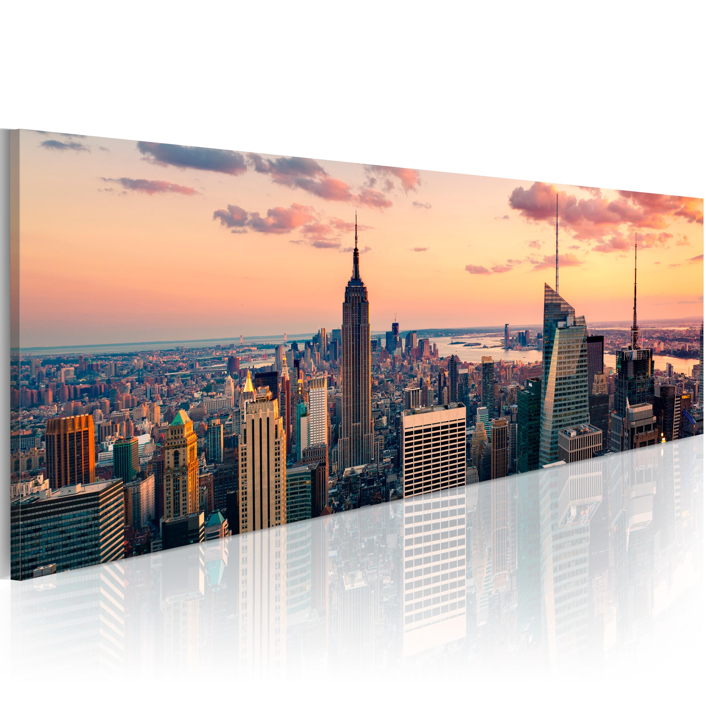 Tableau - Mer des gratte-ciel - New York