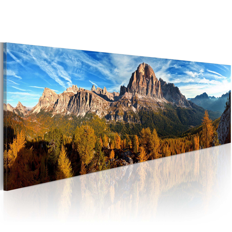 Quadro - montagna, paesaggio - panorama 120X40 cm