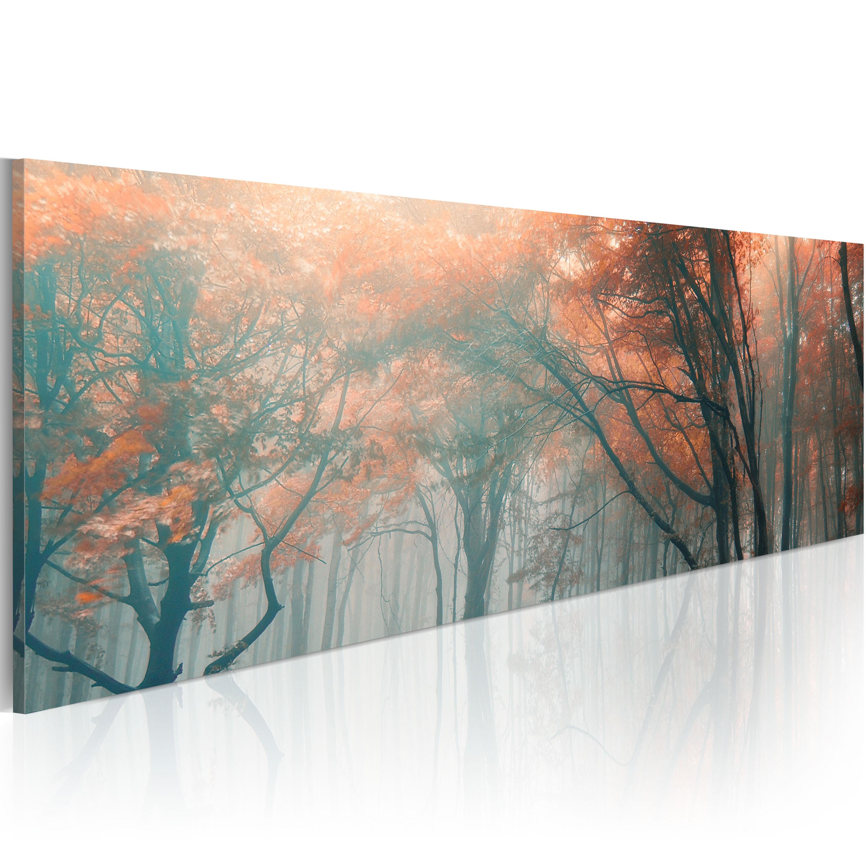 Quadro - Nebbia autunnale 120X40 cm