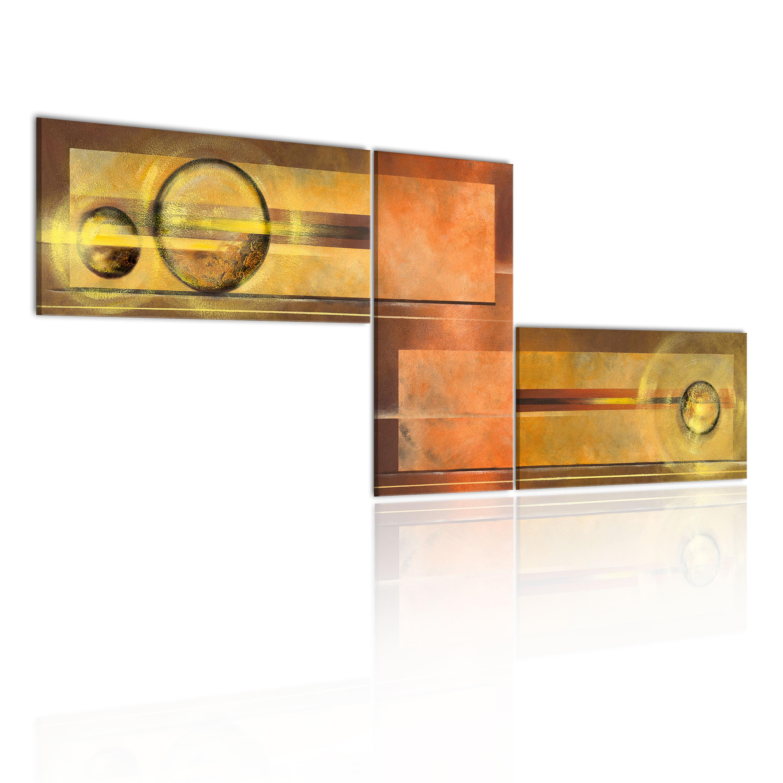 Quadro - Spazio dorato 100X40 cm
