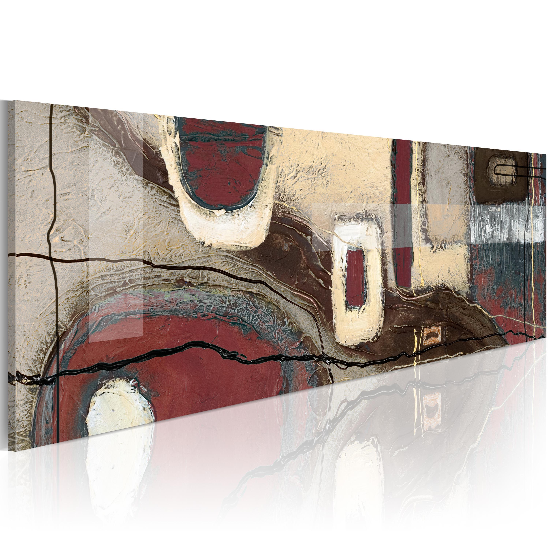 Quadro - Rettangoli di fantasia 120X40 cm