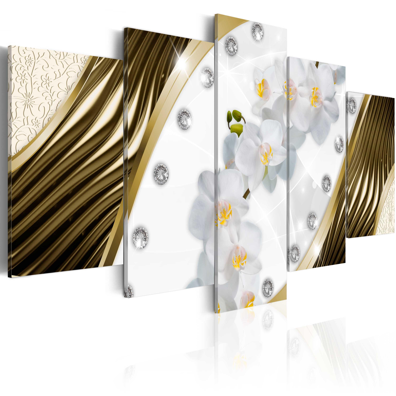 Tableau - Golden orchids