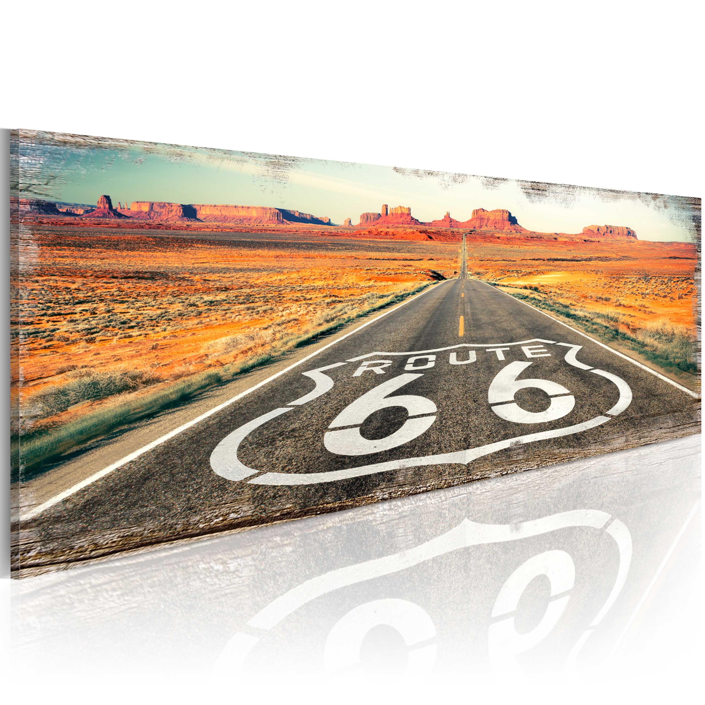 Tableau - Straight road