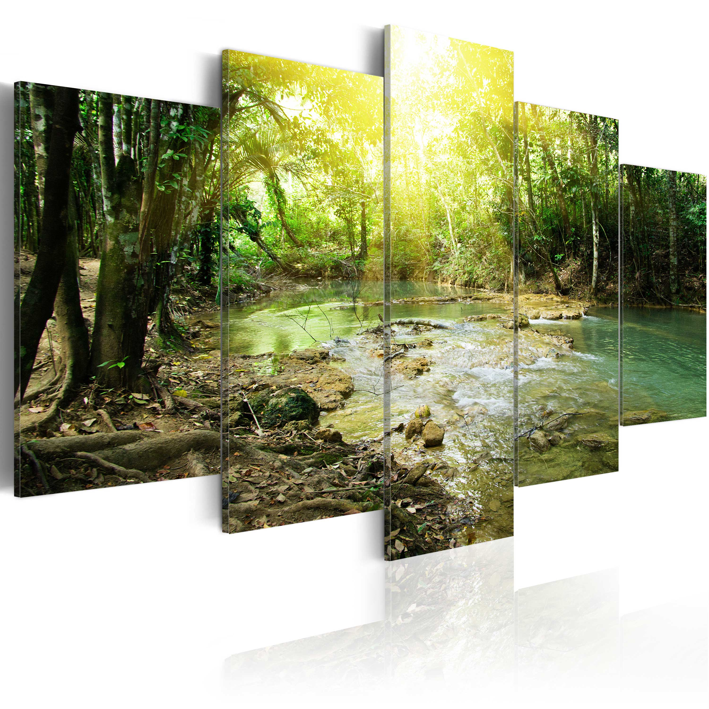 Tableau - Forest river