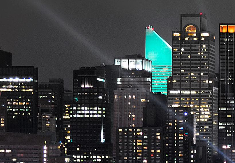 картина для интерьера New York Skyline Wandbilder Xxl Leinwand Bild Kunstdruck Nyc Nacht D A 0022 B N