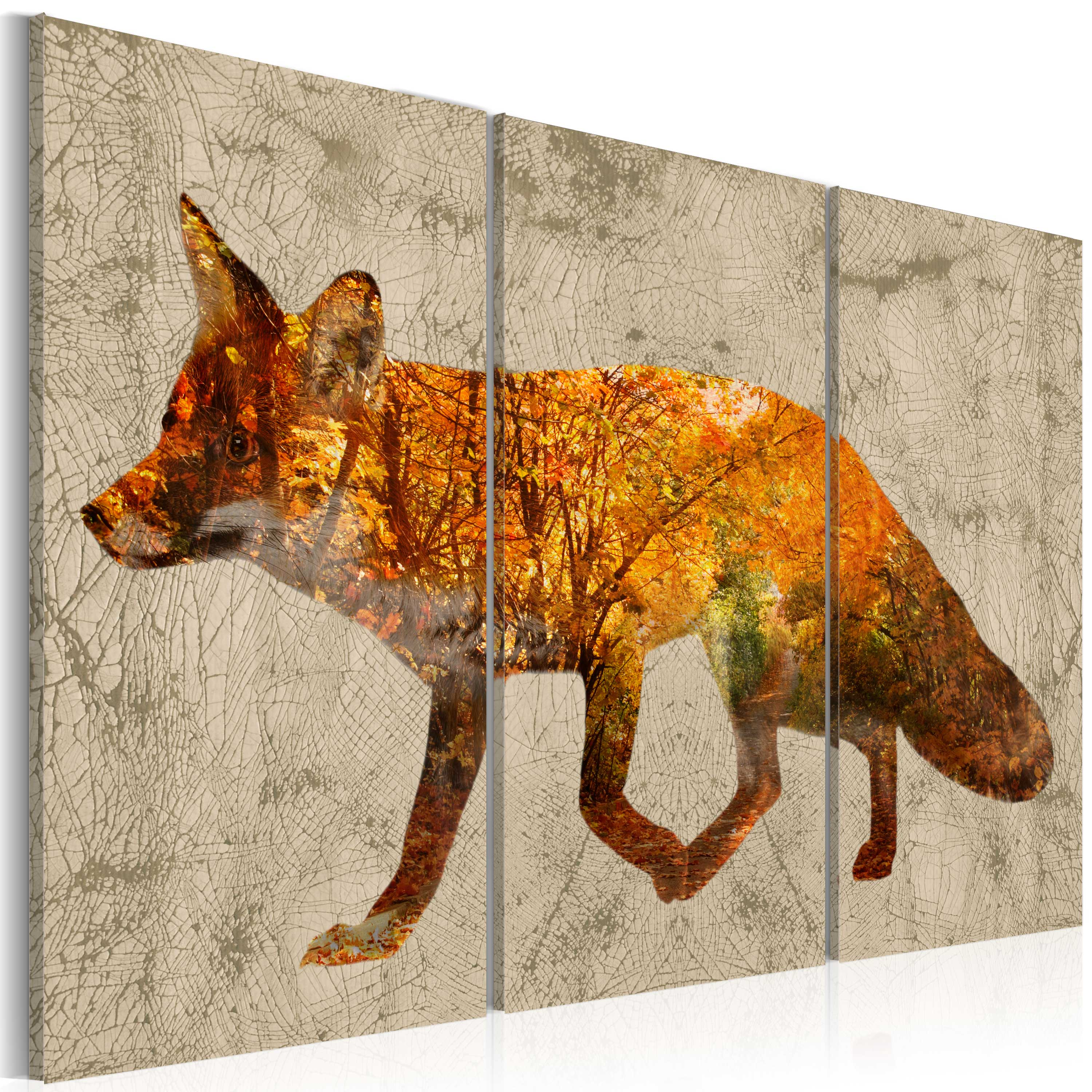 Tableau - Fox in The Wood