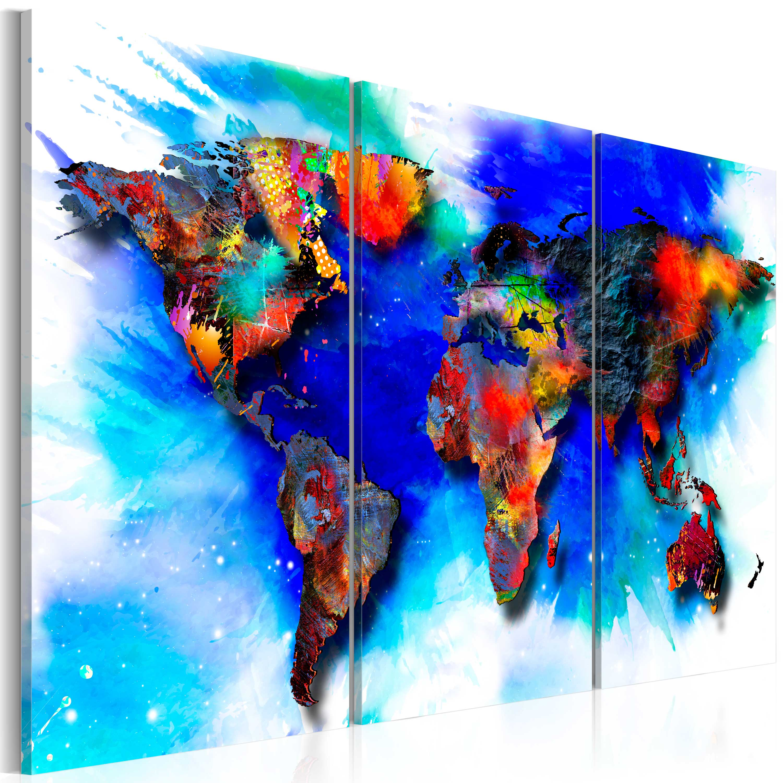 Tableau - Rainbow map