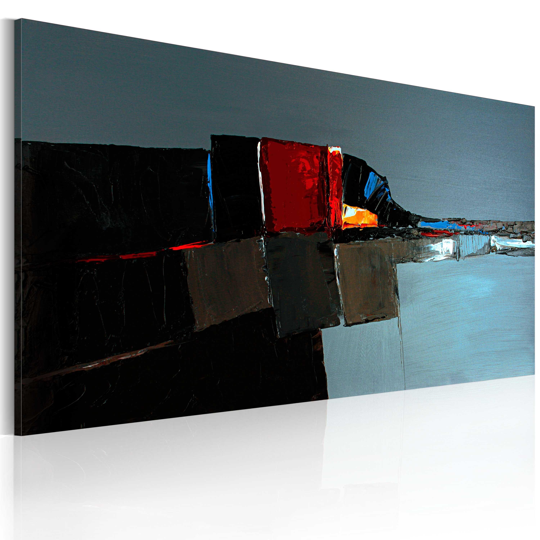 Quadro dipinto - Elefante astratto 120X60 cm