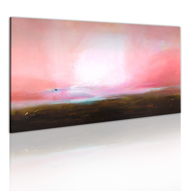 Quadro dipinto - Orizzonte lontano 120X60 cm